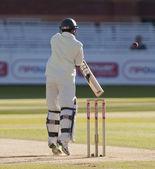 Gry w krykieta. Anglia vs Bangladeszu 1 dzień badania 3. Mohammad ashraful — Zdjęcie stockowe
