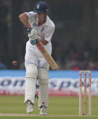 Kriket. i̇ngiltere vs bangladeş 1 test günü 1. alaistair cook — Stok fotoğraf