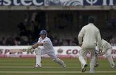 Kriket. Anglie vs Bangladéš 1. testovací den 1. eion morgan — Stock fotografie