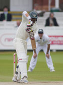 Cricket. England vs Bangladesh 1st test day 3. Junaid Siddique — ストック写真
