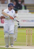 Cricket. engeland vs bangladesh 1ste dag van de test 3. andrew strauss — Stockfoto