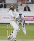 Cricket. England vs Bangladesh 1st test day 3. Junaid Siddique — Stock Photo