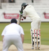Cricket. England vs Bangladesh 1st test day 3. Shakib Al Hasan, Andrew Strauss — Stock Photo