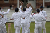 Cricket. England vs Bangladesh 1st test day 3 — Stock Photo