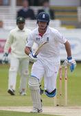 Cricket. engeland vs bangladesh 1ste dag van de test 3. alaistair cook — Stockfoto