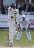 Cricket. England vs Bangladesh 1st test day 3. Junaid Siddique — Stock Photo
