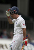 Cricket. England vs Bangladesh 1st test day 1. Andrew Strauss — Stock Photo