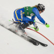 SKI: Lienz Slalom — Stock Photo