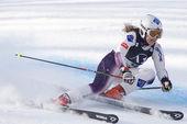 SKI: Lienz Giant Slalom — Foto Stock