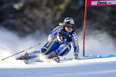 SKI: Lienz Giant Slalom — Stock Photo