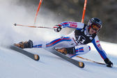 SKI: Lienz Giant Slalom — Stock Photo