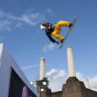 Snowboard World Cup London — Stock Photo