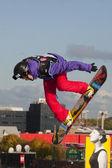 Snowboard World Cup London — Foto de Stock