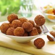 Bowl of meat balls — Stock Photo #29346595