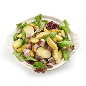 ベイクド ポテトとロースト ビーフのサラダ — ストック写真