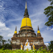 Wat Yai Chai Mongkhon — Stock Photo