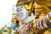 Giants statue at wat pra keaw in Bangkok Thailand — Foto Stock