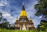 Wat yai chai mongkhon — Stock fotografie