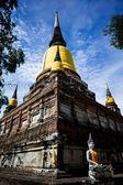 Wat Yai Chai Mongkhon, old buddhist temple of Ayuthaya Province — Photo