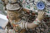 Giant, Titan Statue at Wat Arun in Thailand. — Stock Photo