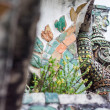 Giant, TitStatue at Wat Arun in Thailand. — ストック写真 #31471621
