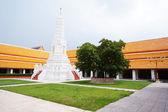 Thai temple of Wat-mahatart-thaprajun Bangkok Thailand — Stock Photo