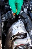 Service d'entretien des véhicules — Foto Stock