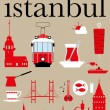 Stock Vector: Istanbul Pictogram Set