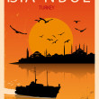 Vintage Istanbul Poster — Stock Vector #29186633