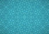 Turquoise Ottoman Pattern — Stock Vector