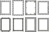 Vintage Frame Set — Stock Vector