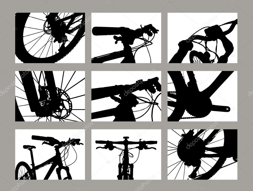Detail of Bicycle part...