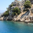 Stock Photo: MediterraneCoast at Kekova, Antalya.