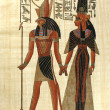 Stock Photo: Old egyptipapyrus
