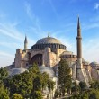 Hagia Sophia mosque in Istanbul Turkey — Stock Photo
