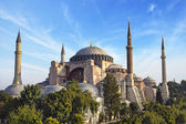 Hagia Sophia mosque in Istanbul Turkey — Stockfoto