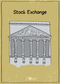 New york Stock Exchange — Vettoriale Stock