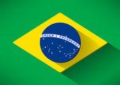 Brazilian Flag — Stock Vector