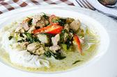 Curry au poulet — Photo
