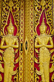 Door trim Thailand. — Stock Photo