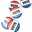 Vote Badges — Stock Photo