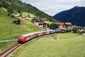 Touristic train — Foto de Stock