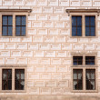 Litomysl chateau windows — Stock Photo #30349823