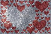 Frusna hjärta — Stockfoto