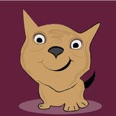 快乐的狗 — 图库矢量图片