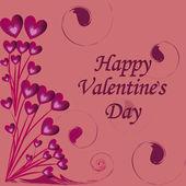 Presentation for valentine's day — 图库矢量图片