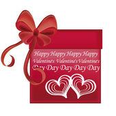 Gift for valentine's day — 图库矢量图片