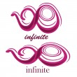 Infinite — Stock Vector