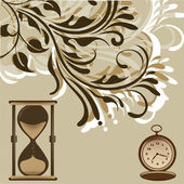 進化時計 — ストックベクタ
