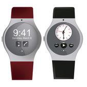 Smart clocks — Stock Vector